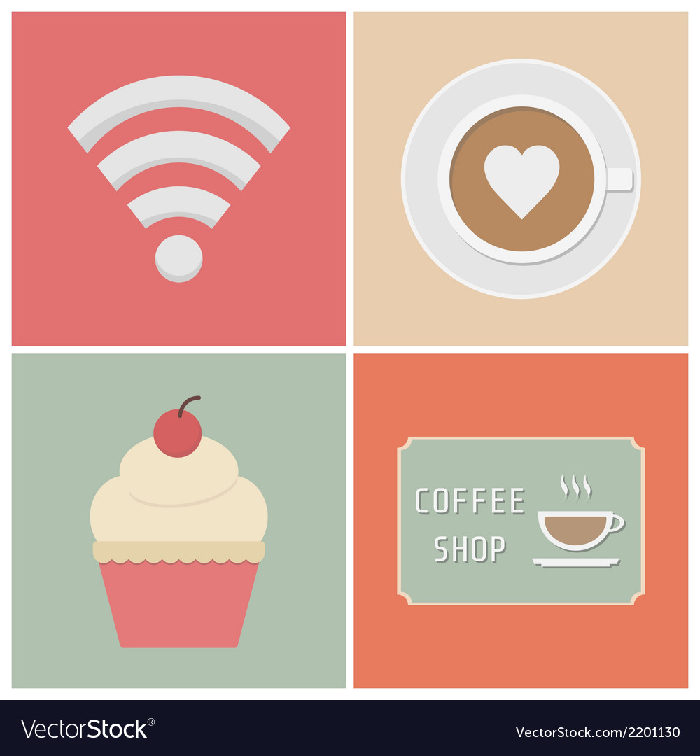 Coffeeshop vector | Price: 1 Credit (USD $1)