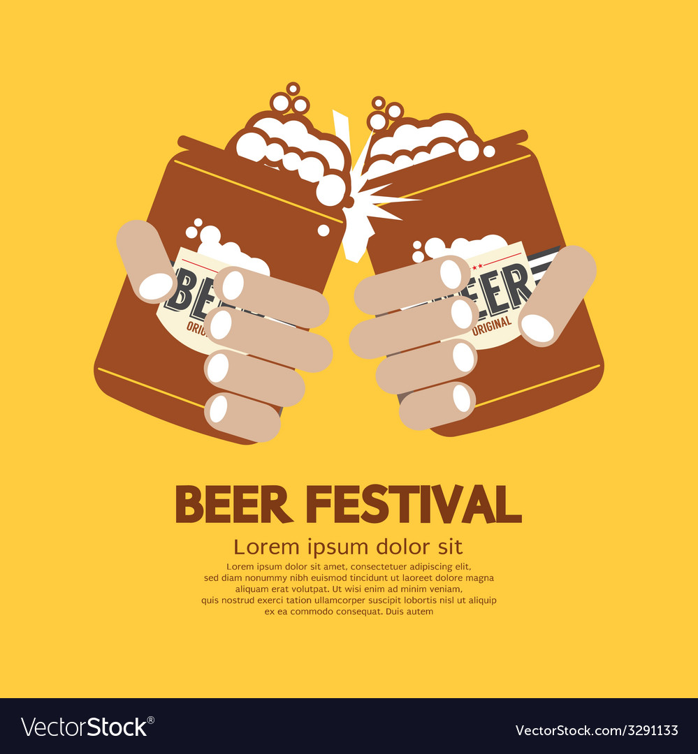 Beer festival graphic vector | Price: 1 Credit (USD $1)