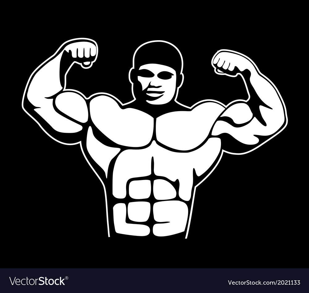 Body builder vector | Price: 1 Credit (USD $1)