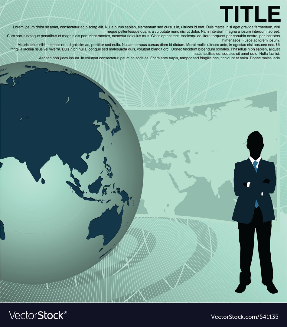 Business background vector | Price: 1 Credit (USD $1)