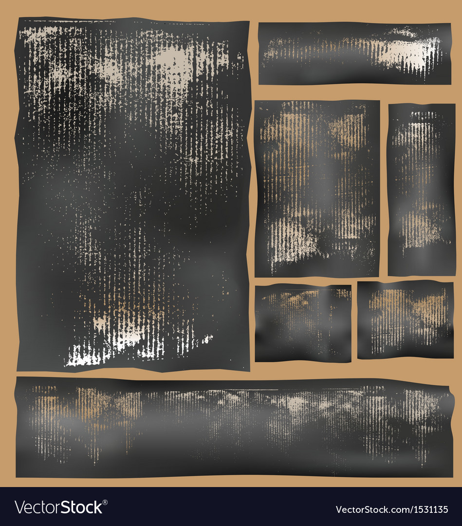 Cardboard impressions vector | Price: 1 Credit (USD $1)