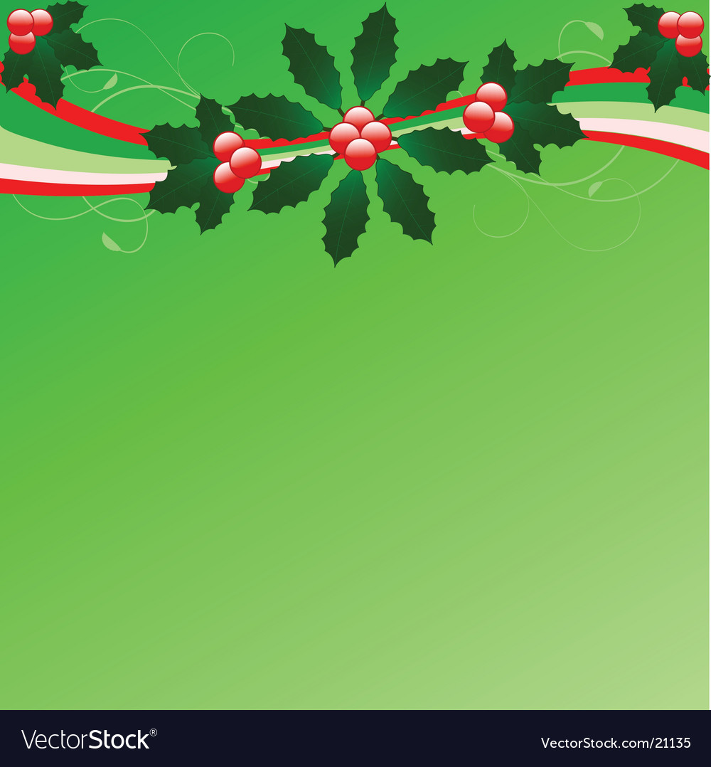 Christmas flourish background vector | Price: 1 Credit (USD $1)