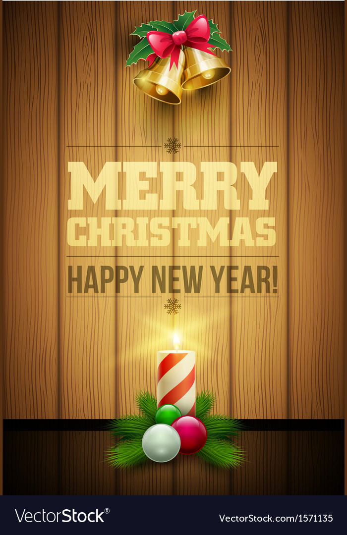 Christmas message board vector | Price: 1 Credit (USD $1)