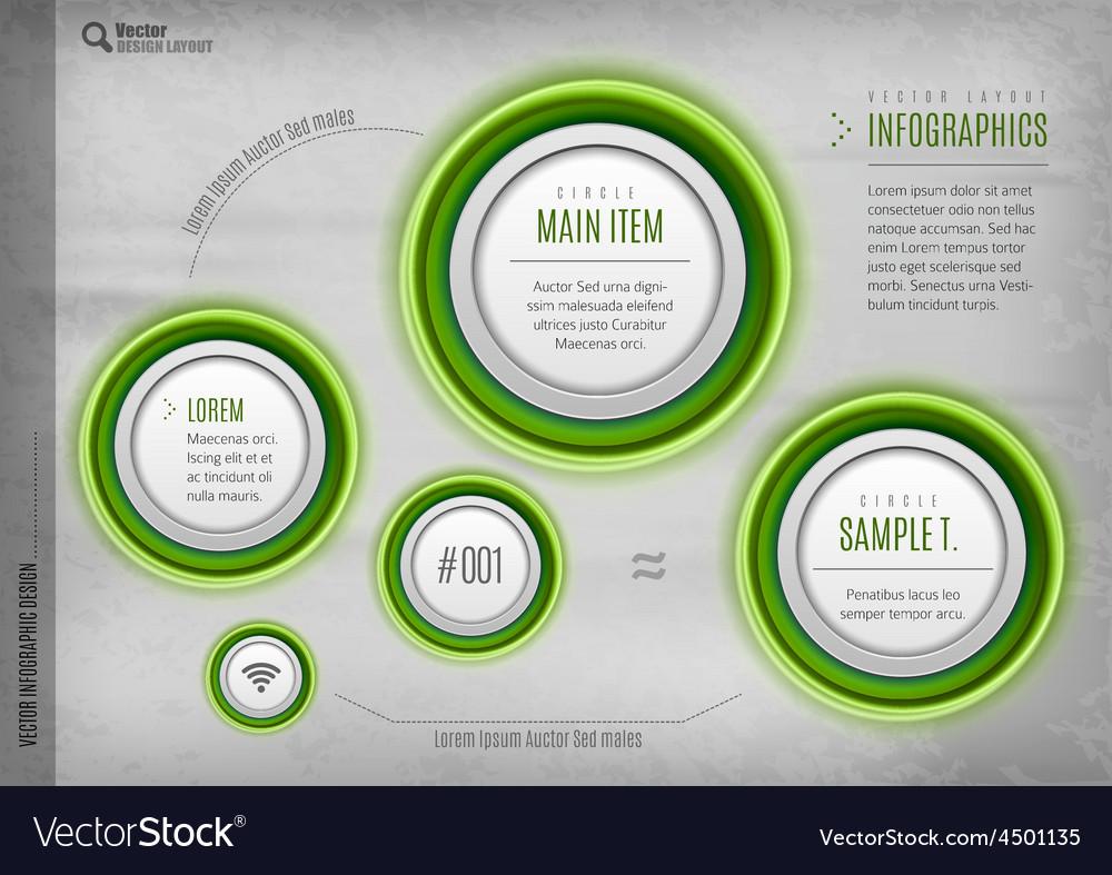 Circles design vector | Price: 1 Credit (USD $1)