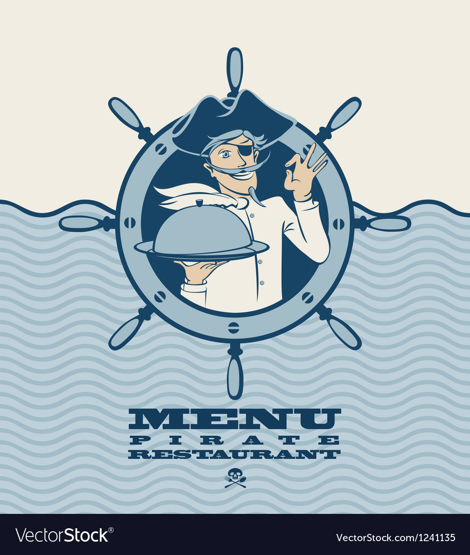 Pirate menu vector | Price: 3 Credit (USD $3)