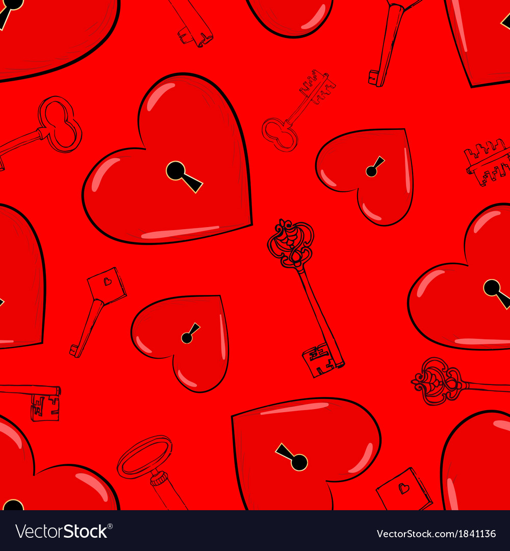 Heart and keys vector   Price: 1 Credit (USD $1)