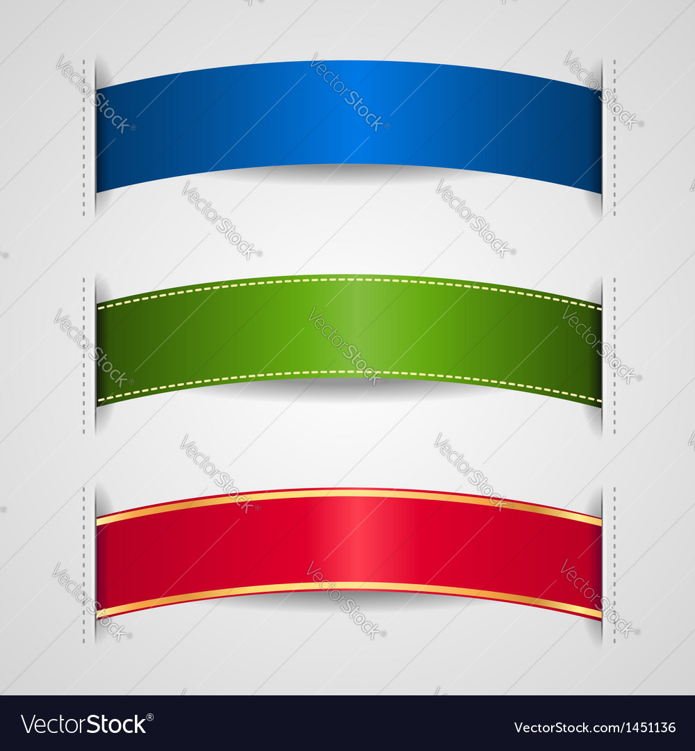 Ribbons element vector | Price: 1 Credit (USD $1)
