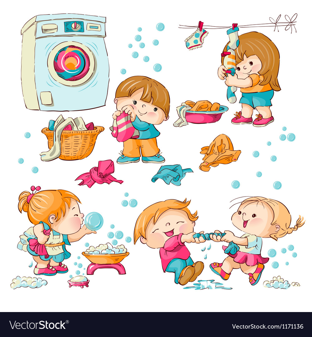 Washing vector | Price: 3 Credit (USD $3)