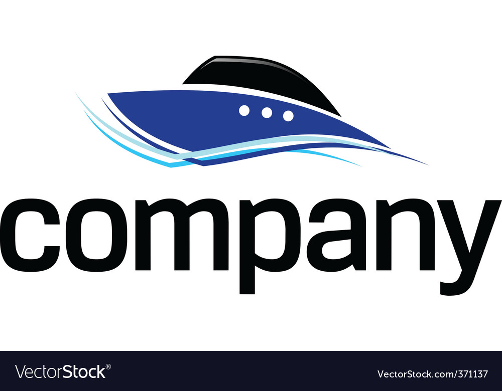 Fast boat logo vector | Price: 1 Credit (USD $1)