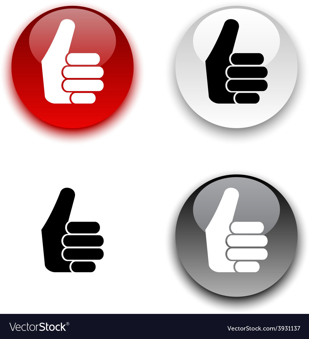 Good button vector | Price: 1 Credit (USD $1)