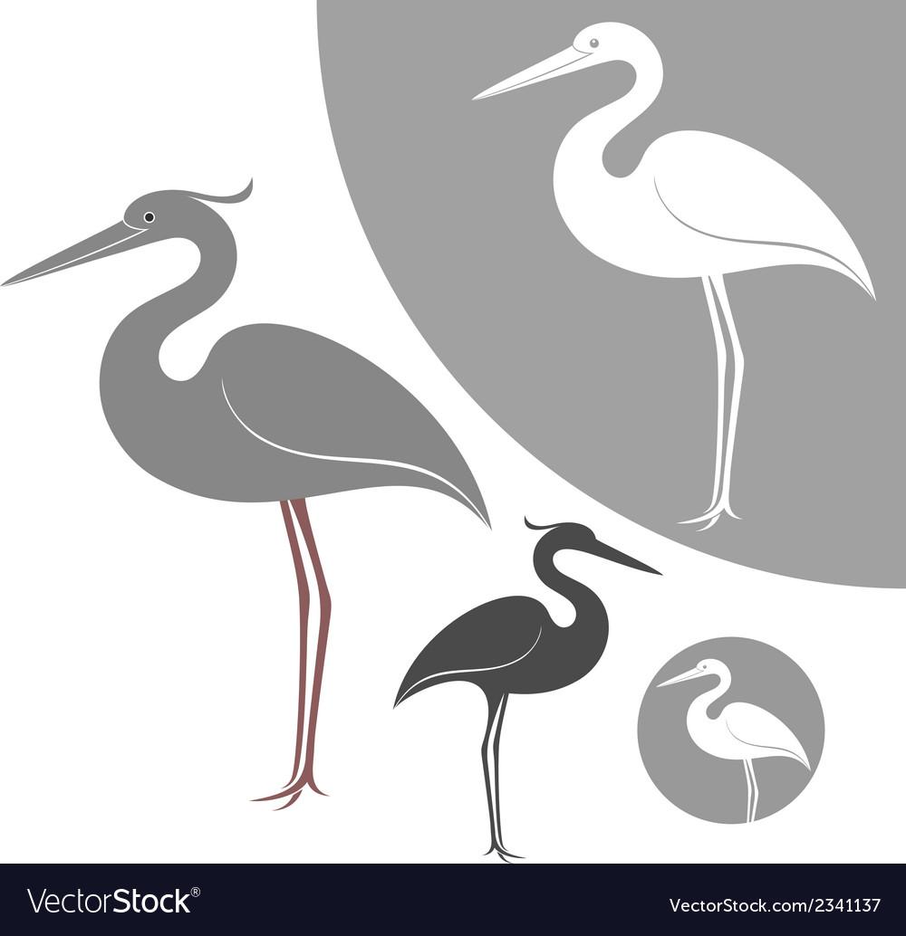 Heron vector | Price: 1 Credit (USD $1)