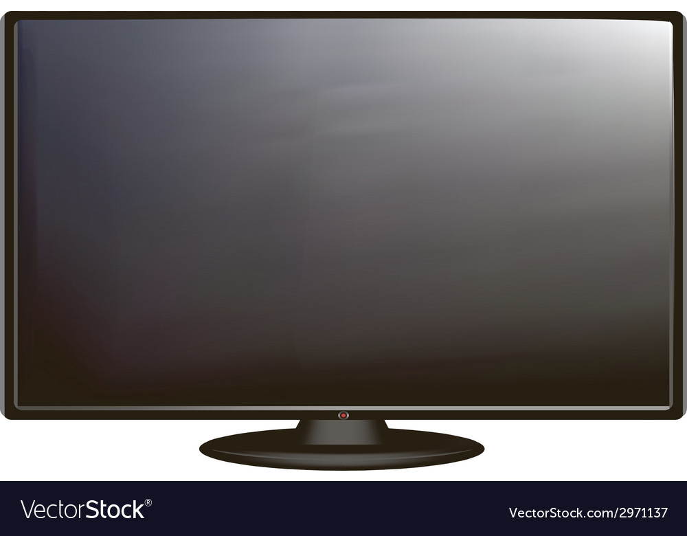 Tv screen vector | Price: 1 Credit (USD $1)