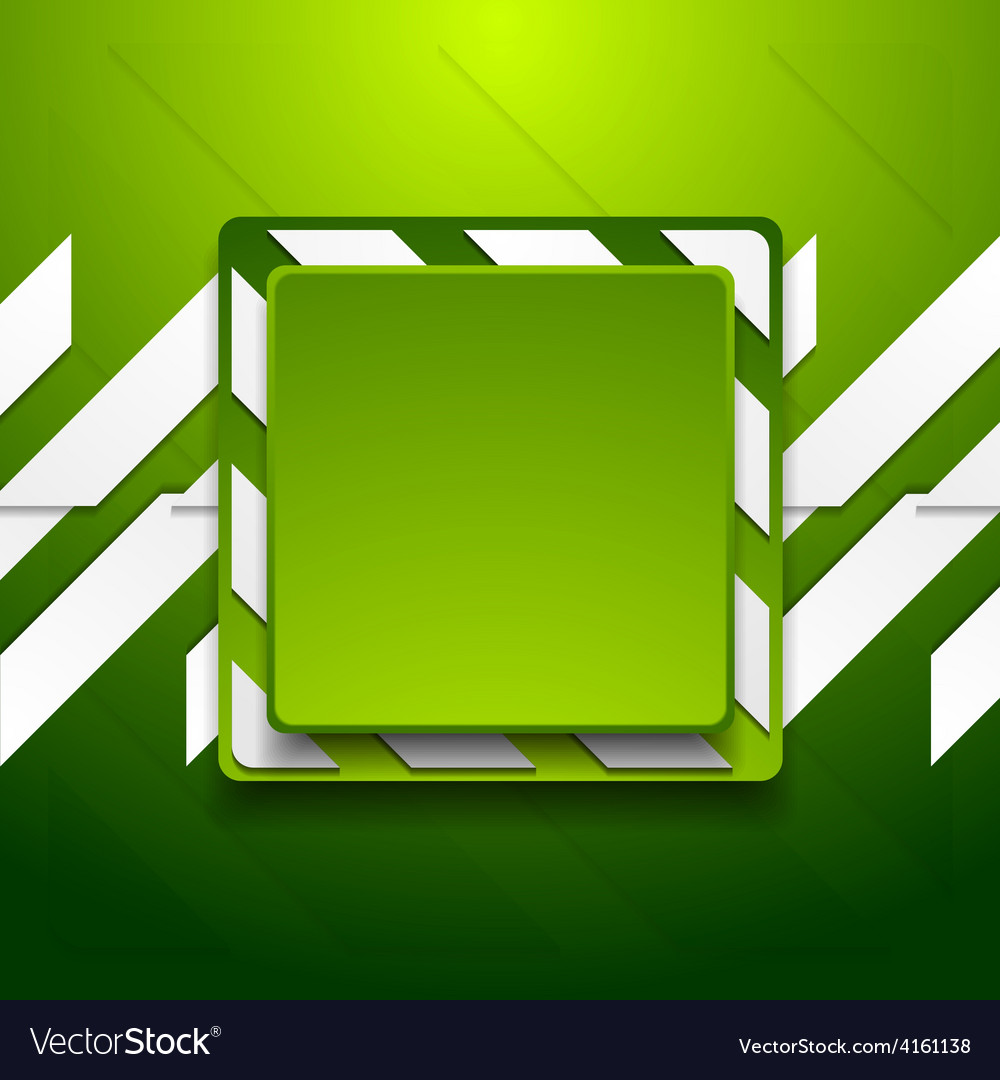 Green abstract geometric corporate background vector   Price: 1 Credit (USD $1)