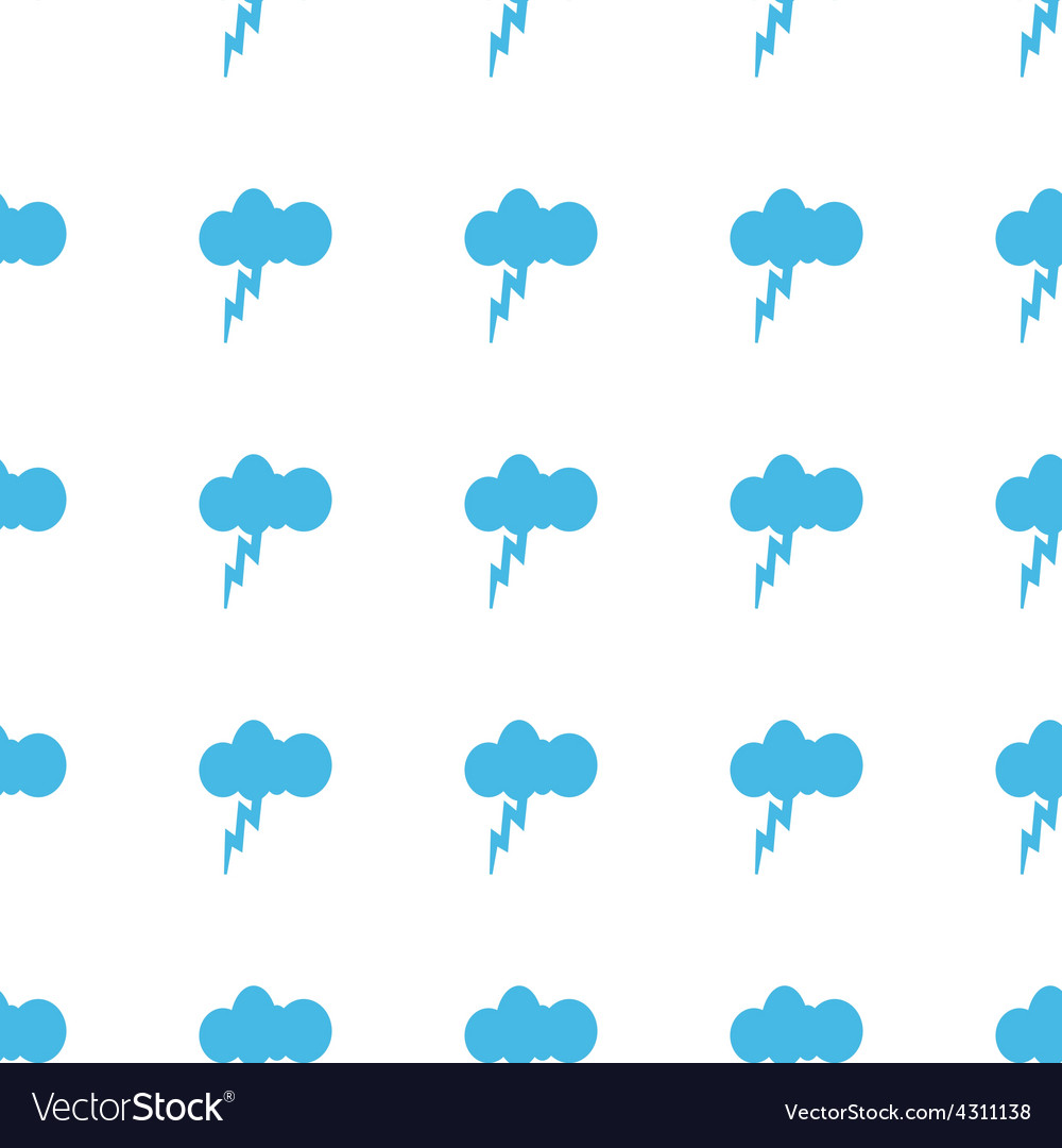 Unique storm seamless pattern vector | Price: 1 Credit (USD $1)