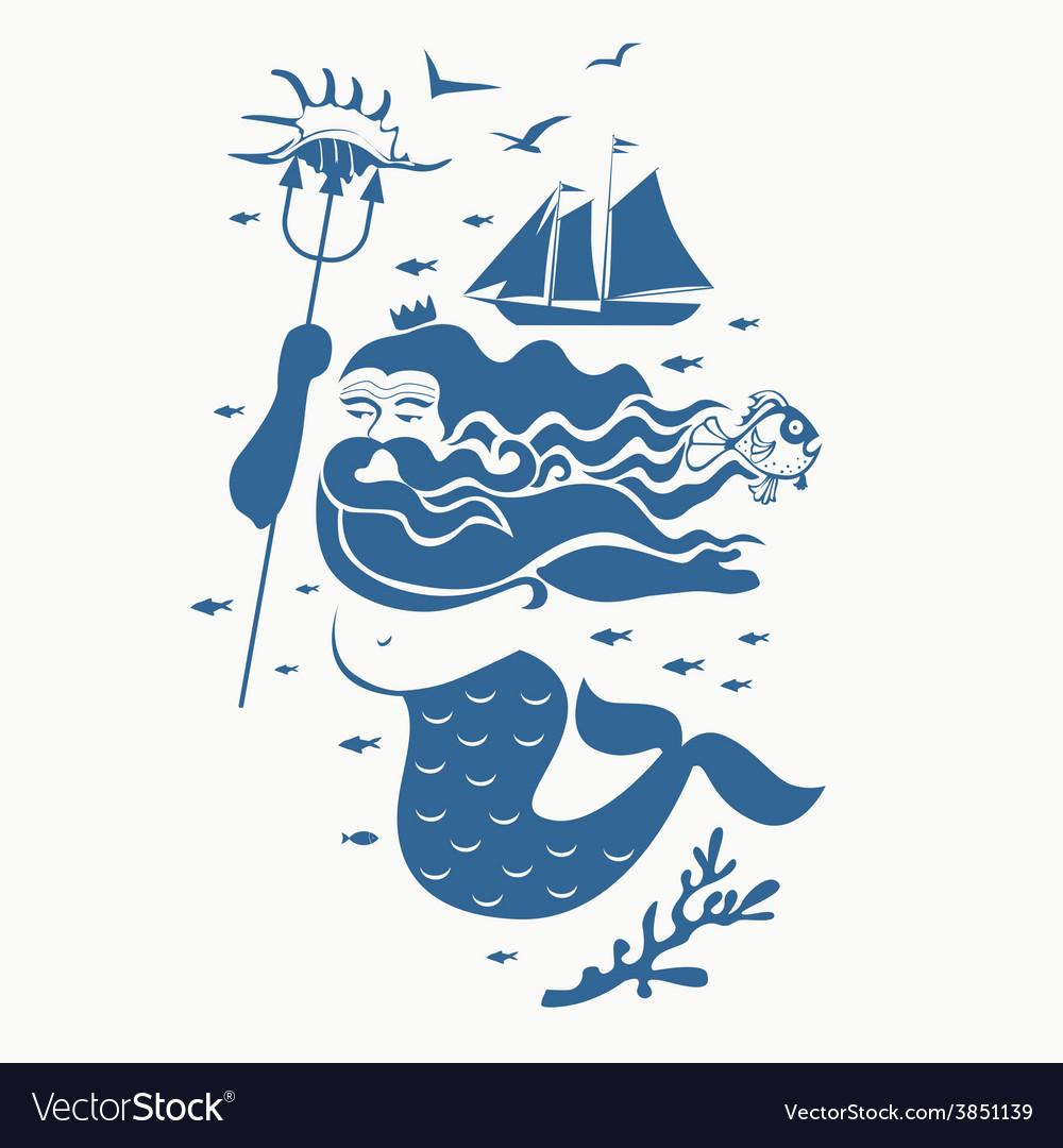 Neptune king vector   Price: 1 Credit (USD $1)