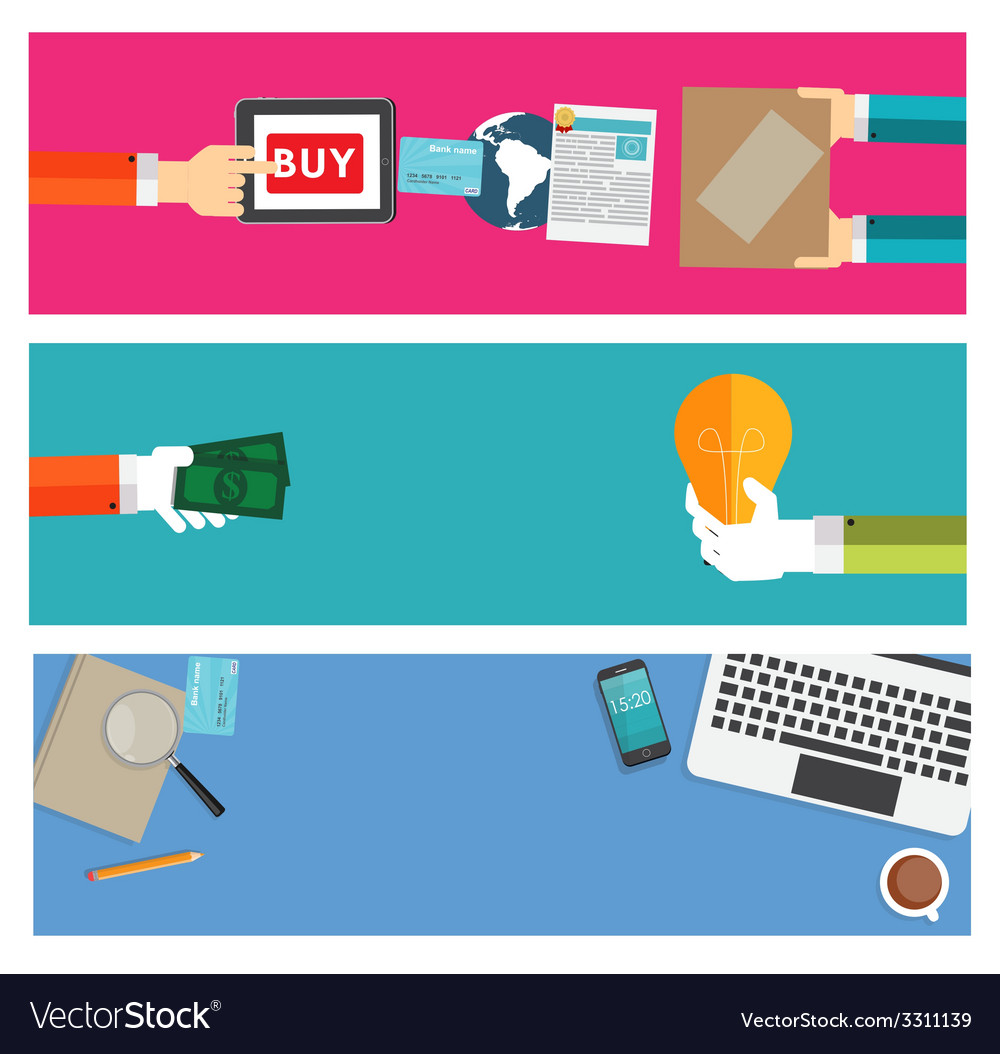 Online shopping businessworking place modern vector   Price: 1 Credit (USD $1)