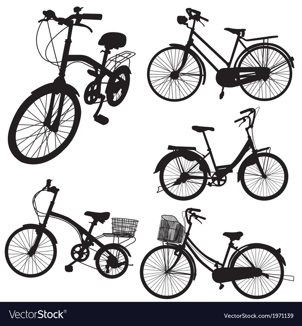 Set of bicycle vector | Price: 1 Credit (USD $1)