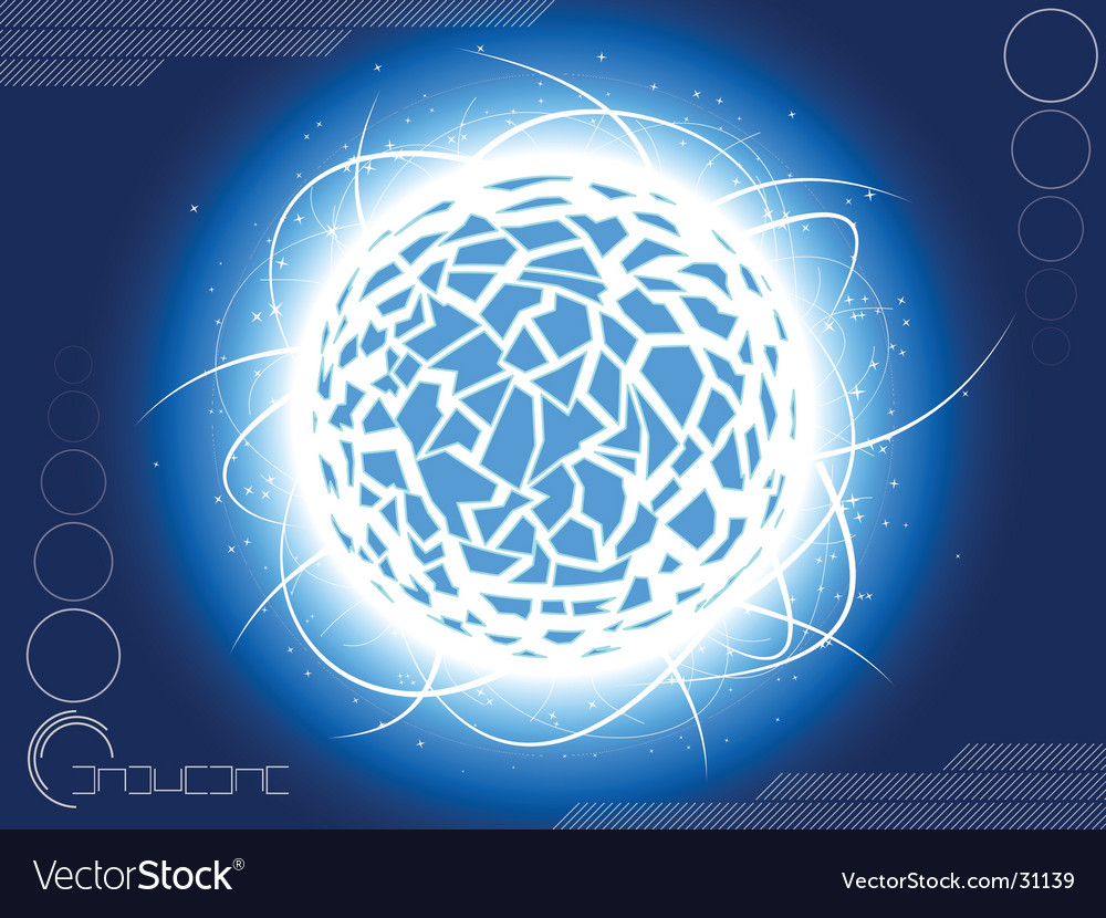 Space theme vector | Price: 1 Credit (USD $1)