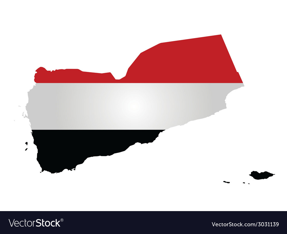 Yemen flag vector | Price: 1 Credit (USD $1)