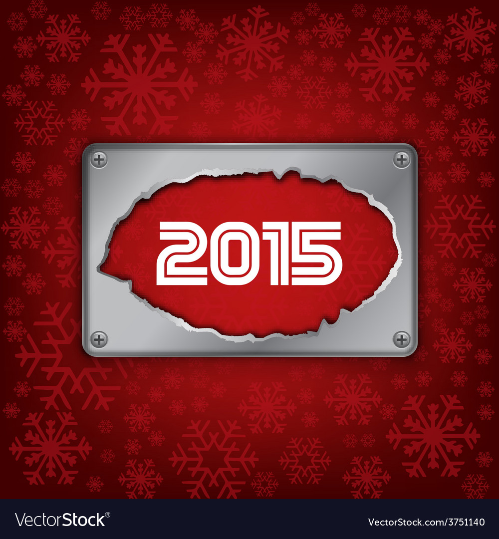 2015 new year celebrate card vector | Price: 1 Credit (USD $1)