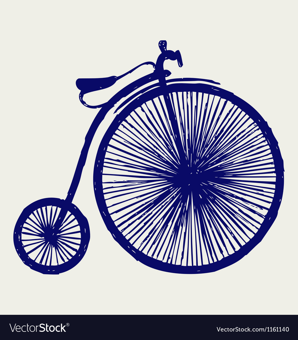 Penny farthing vector | Price: 1 Credit (USD $1)