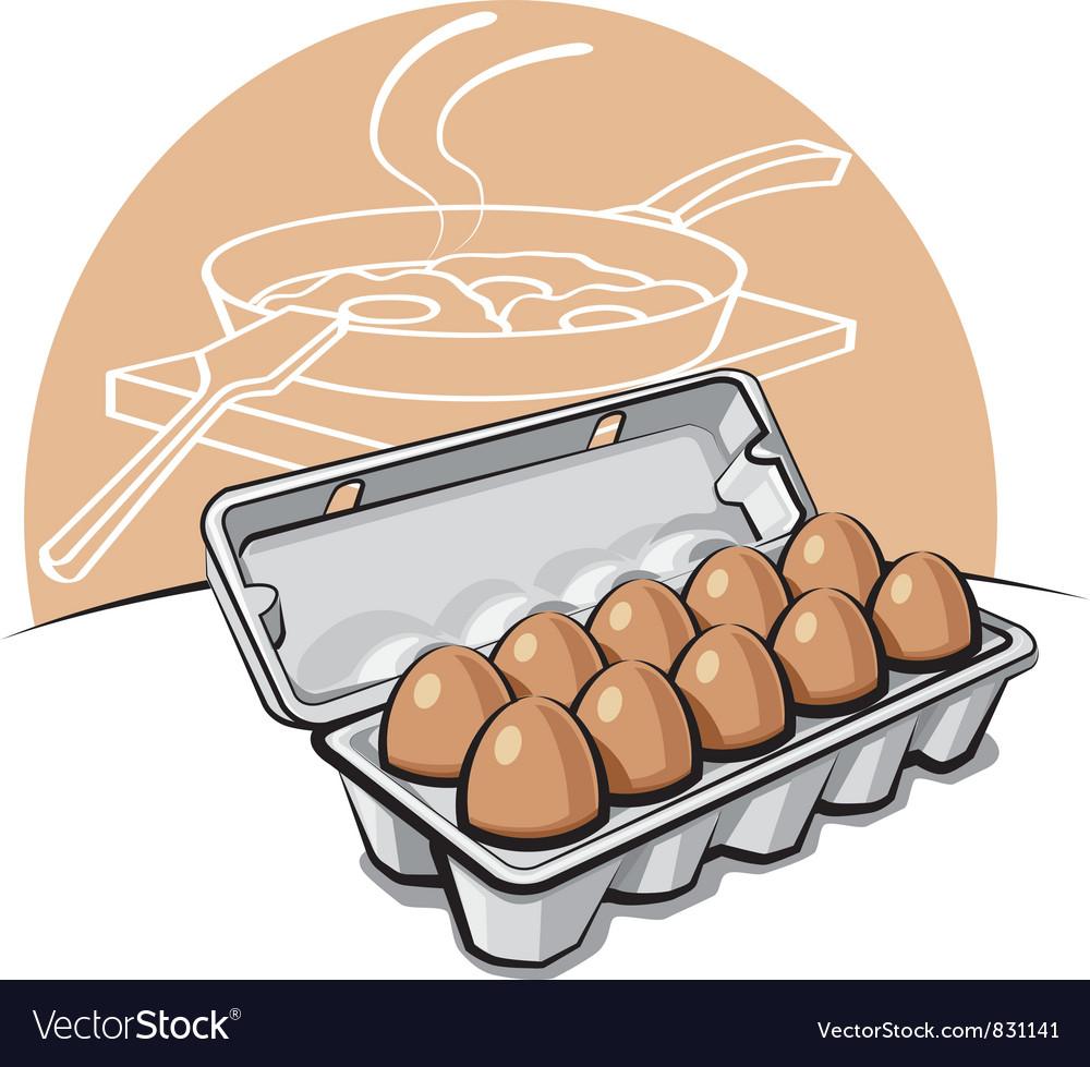 Eggs vector | Price: 3 Credit (USD $3)