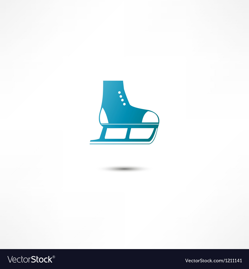 Skating icon vector | Price: 1 Credit (USD $1)