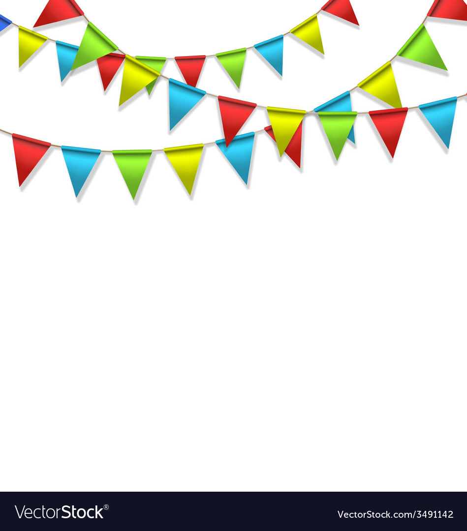 Buntings isolated on white vector | Price: 1 Credit (USD $1)
