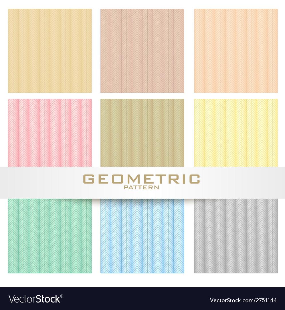 Herring bone patterns set vector | Price: 1 Credit (USD $1)