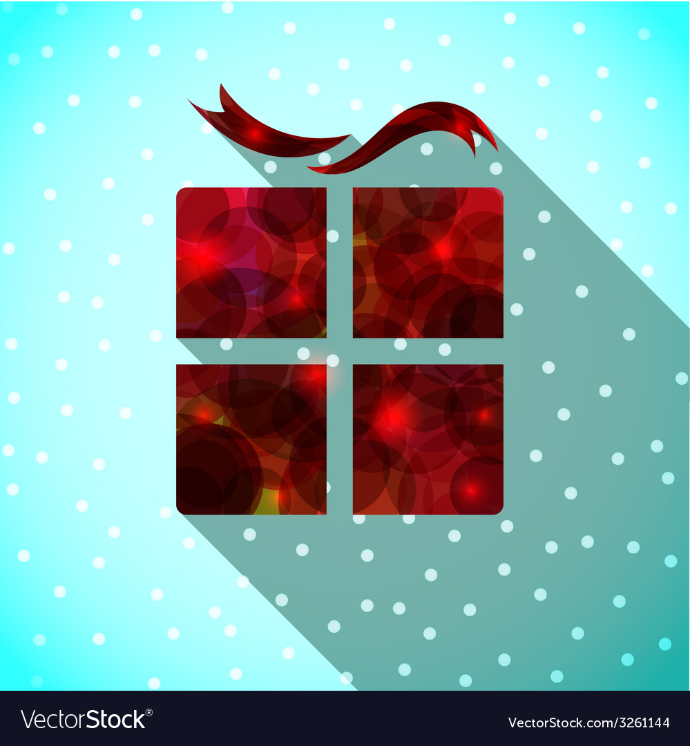Surprise gift box vector | Price: 1 Credit (USD $1)