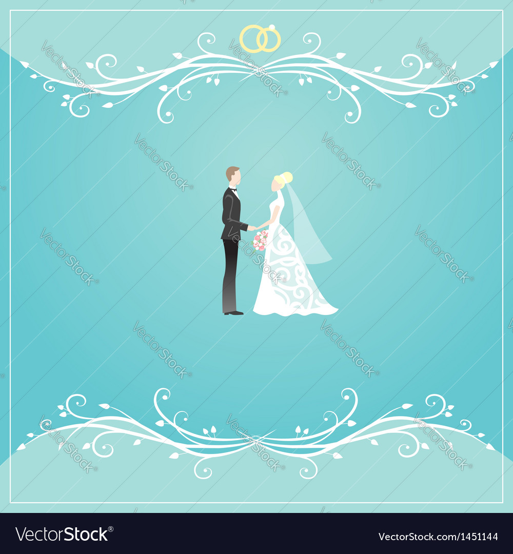 Weding background vector | Price: 1 Credit (USD $1)