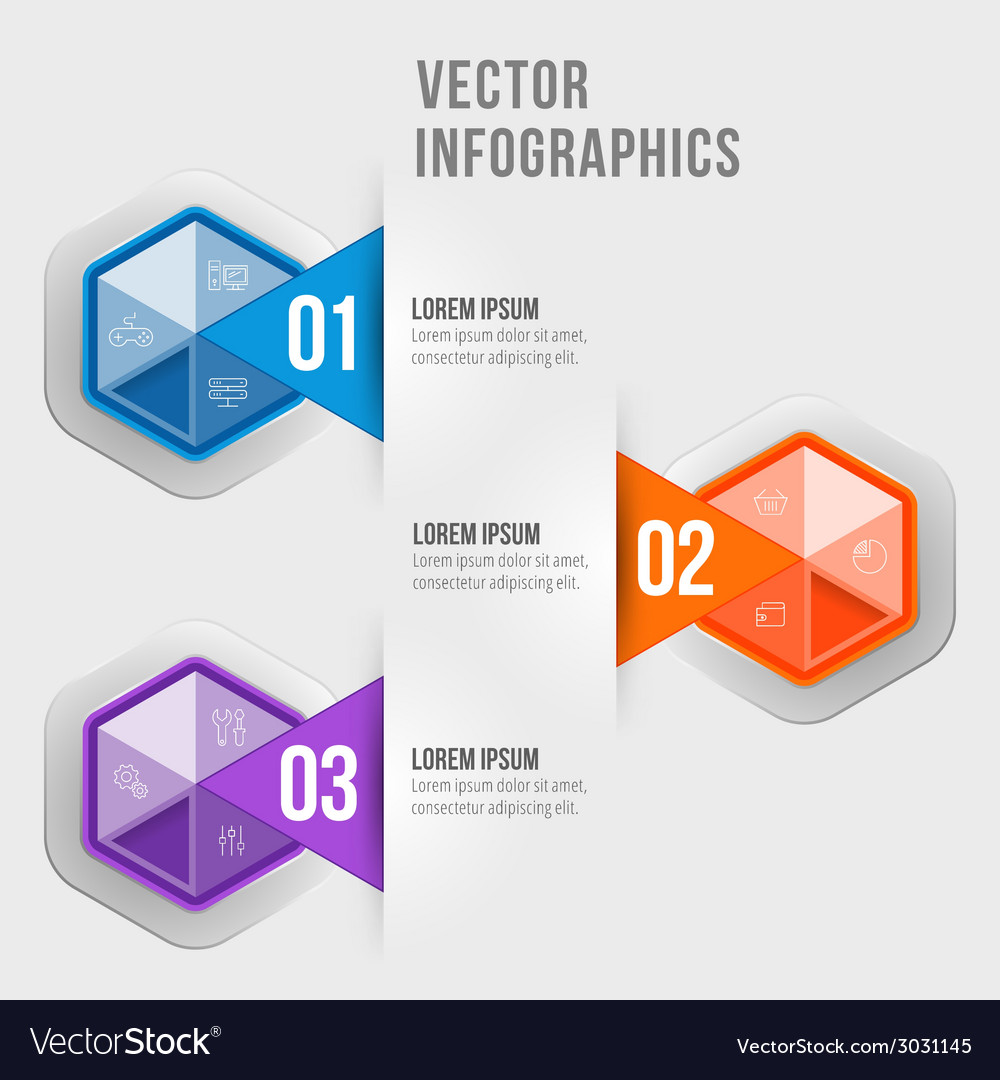 Abstract infographic design workflow layout vector | Price: 1 Credit (USD $1)