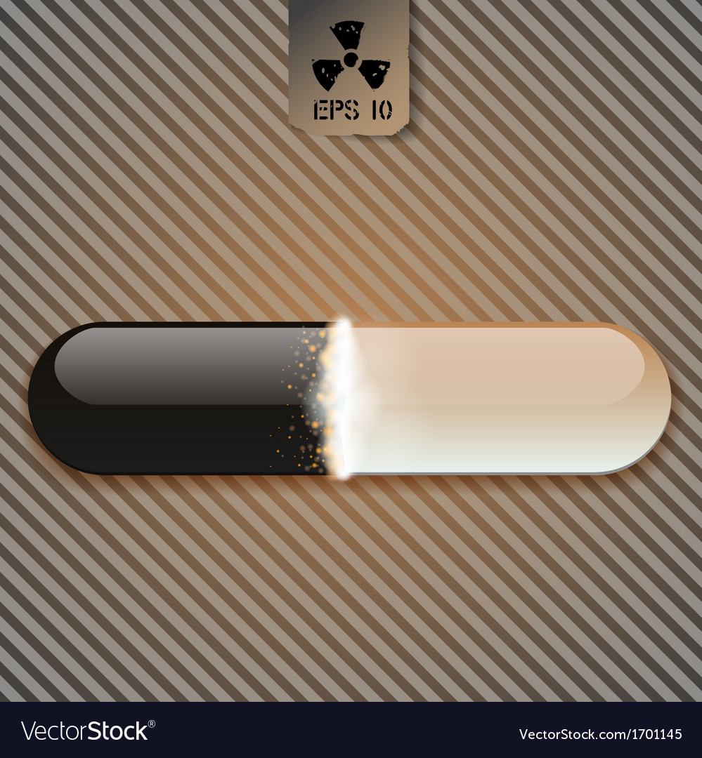 Download bar with chemical black fluid vector | Price: 1 Credit (USD $1)