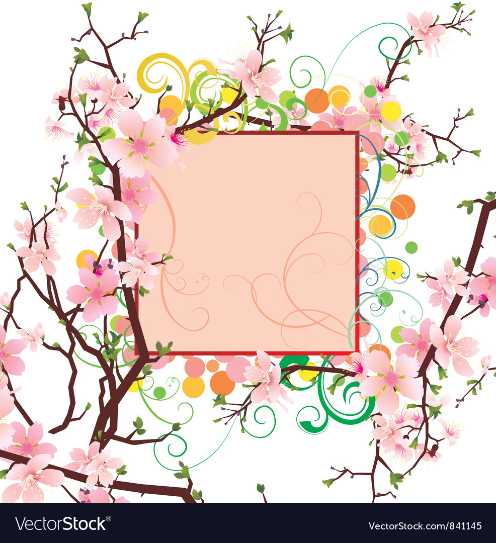 Spring frame vector | Price: 1 Credit (USD $1)