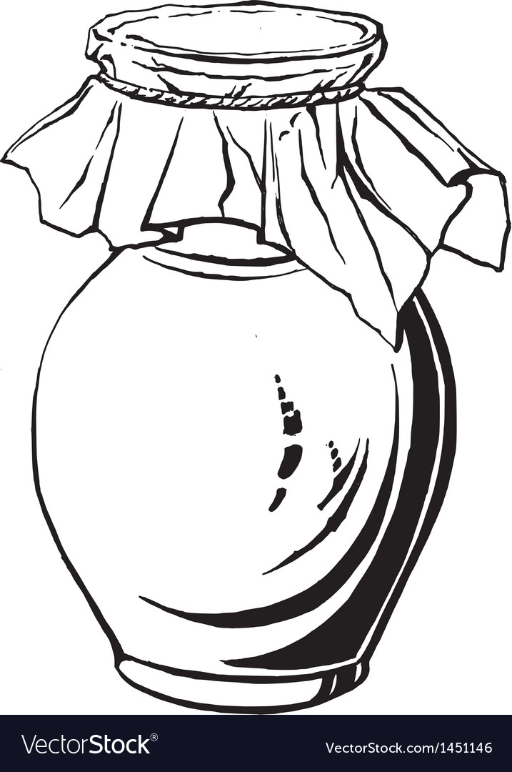 Antique jug vector | Price: 1 Credit (USD $1)