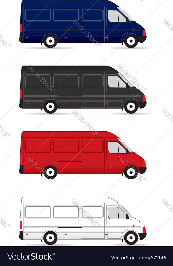 Delivery vans vector   Price: 1 Credit (USD $1)