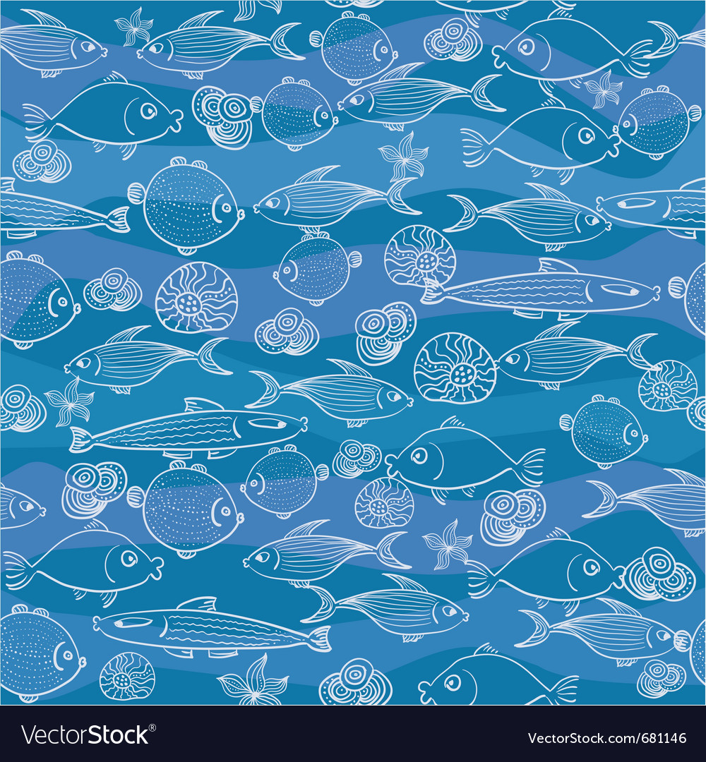Oceans wallpaper vector