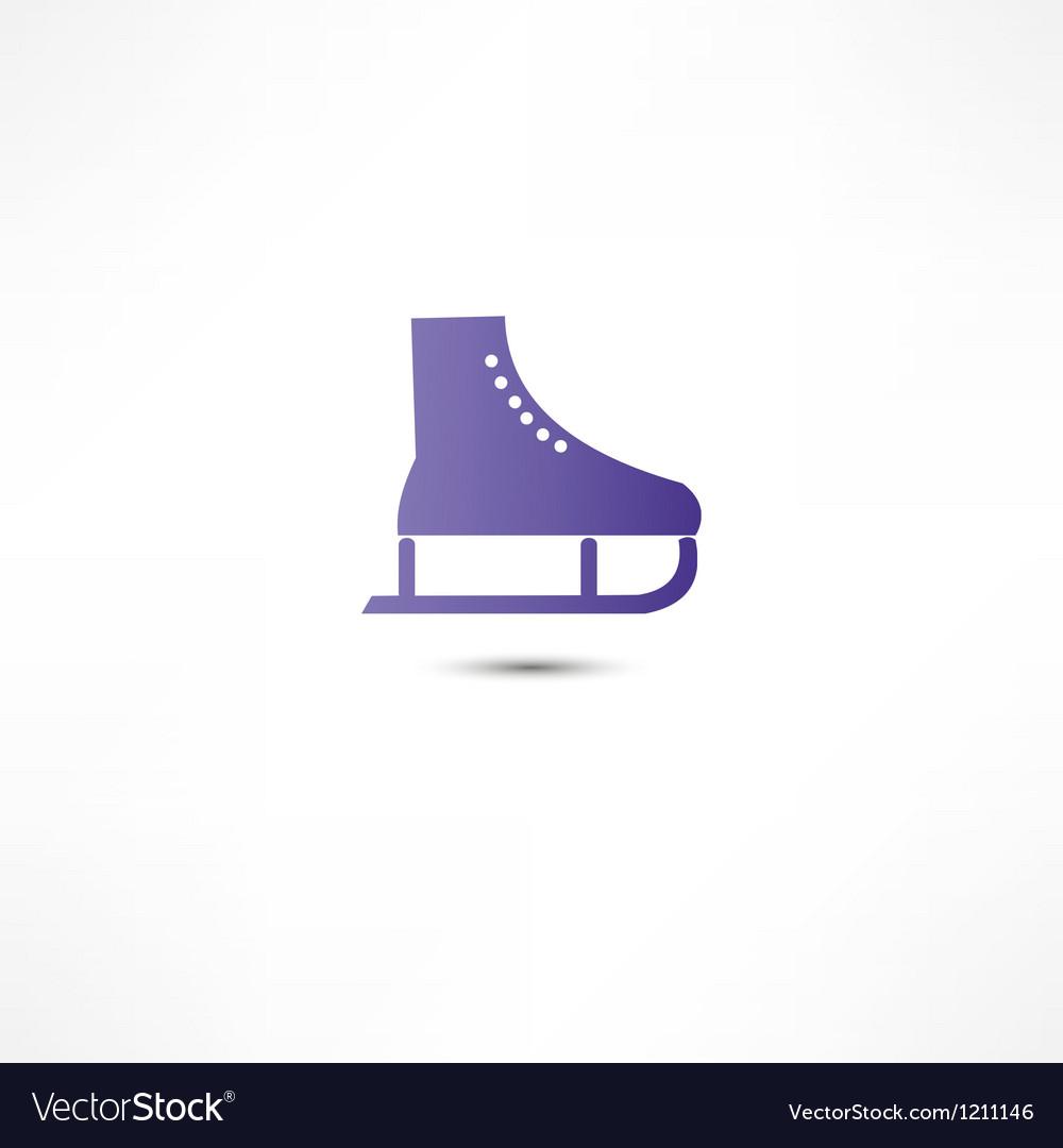Skating icon vector | Price: 1 Credit (USD $1)