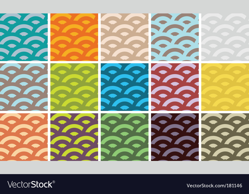 Wave patterns vector | Price: 1 Credit (USD $1)