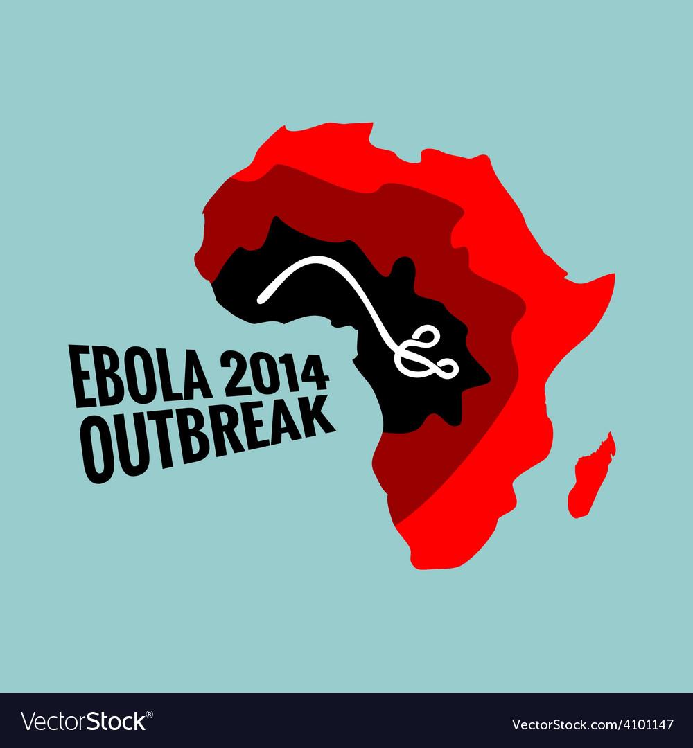 Ebola virus 2014 outbreak vector | Price: 1 Credit (USD $1)