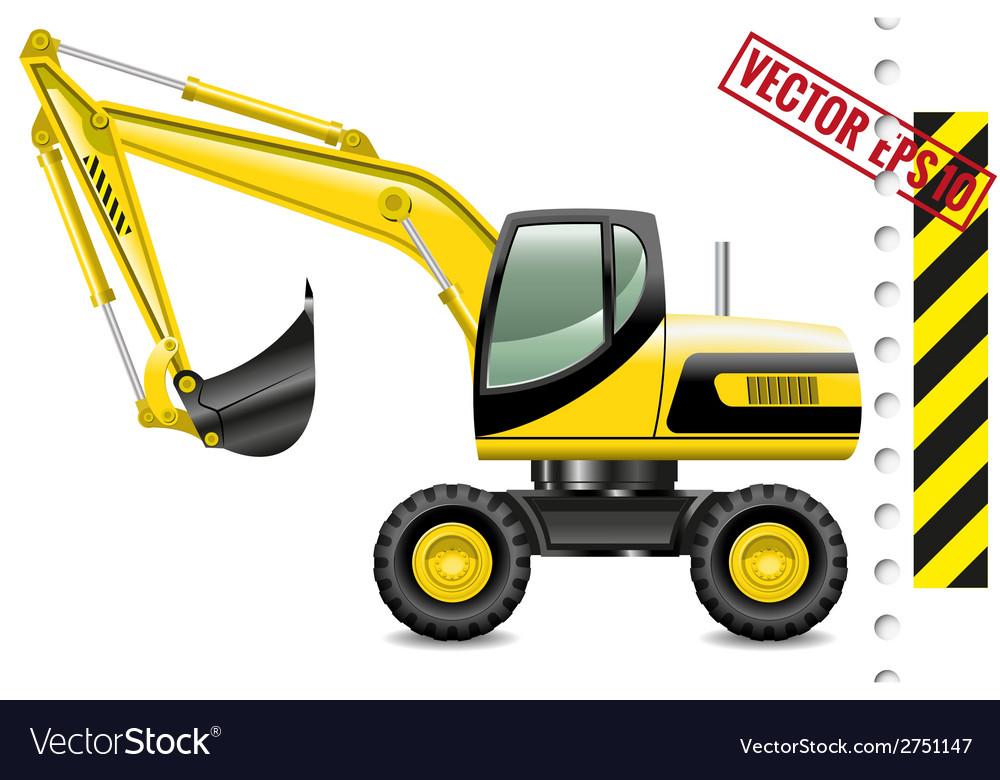 Excavator vector   Price: 3 Credit (USD $3)