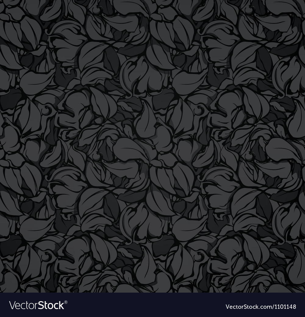 Abstract seamless pattern black vector | Price: 1 Credit (USD $1)