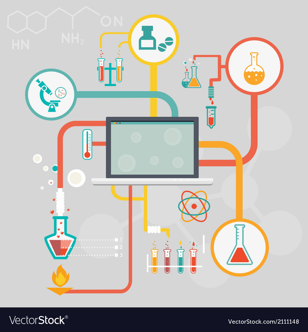 Science and research infographics vector | Price: 1 Credit (USD $1)