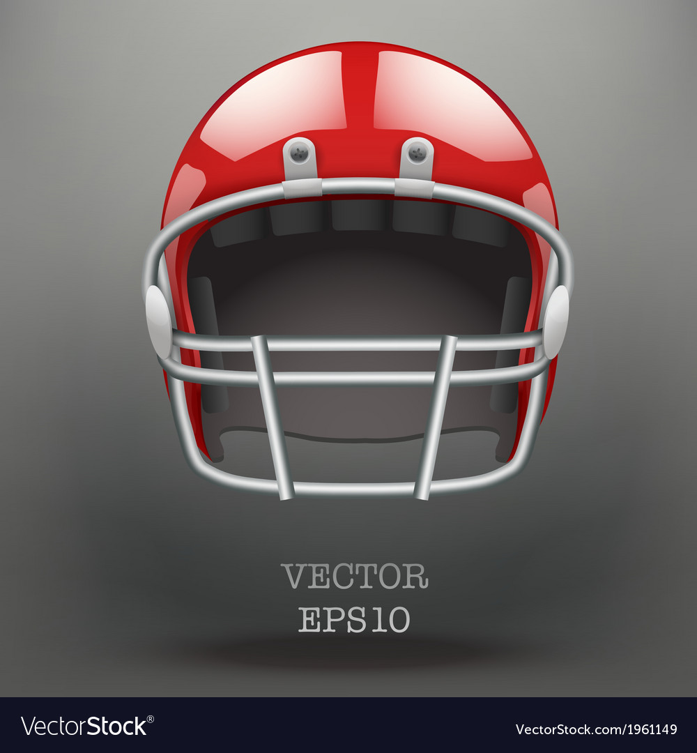 Background of american football helmet vector | Price: 1 Credit (USD $1)