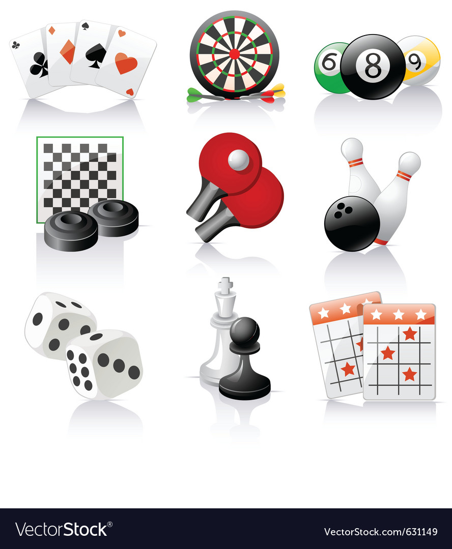 Games icons vector | Price: 1 Credit (USD $1)