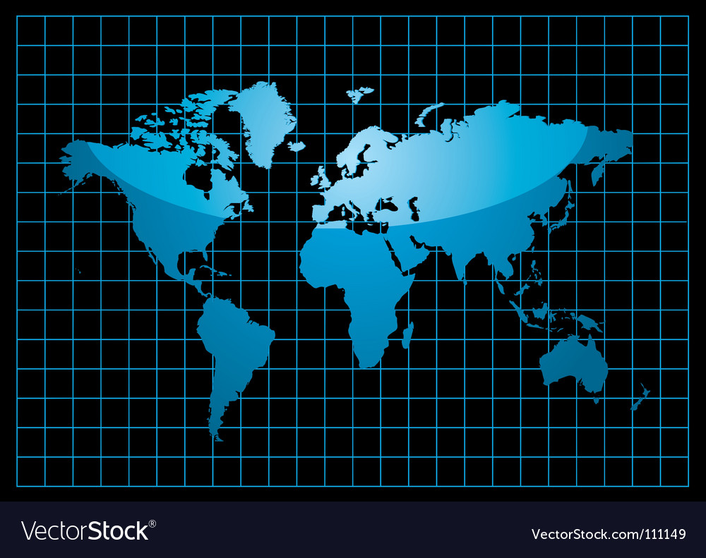 World black vector | Price: 1 Credit (USD $1)