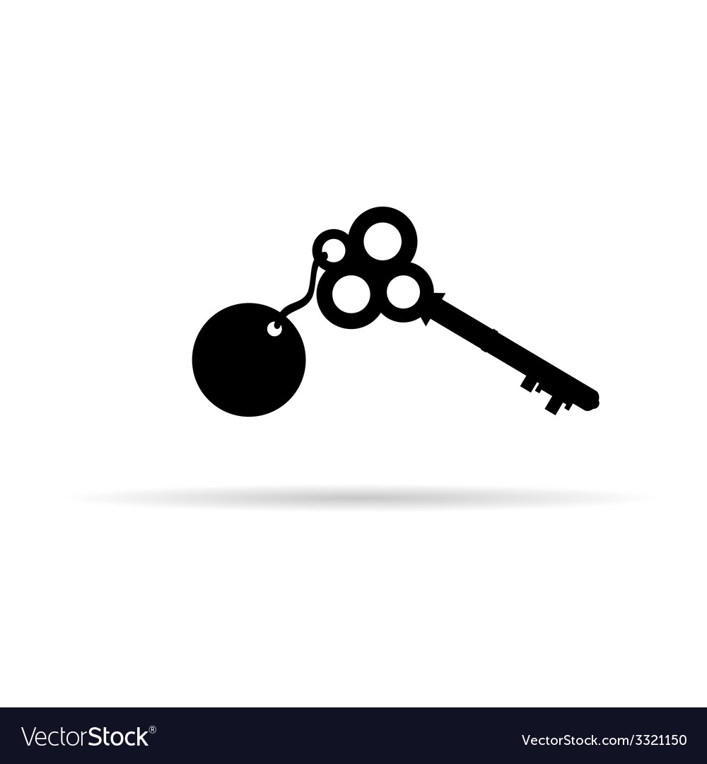 Old key vector | Price: 1 Credit (USD $1)