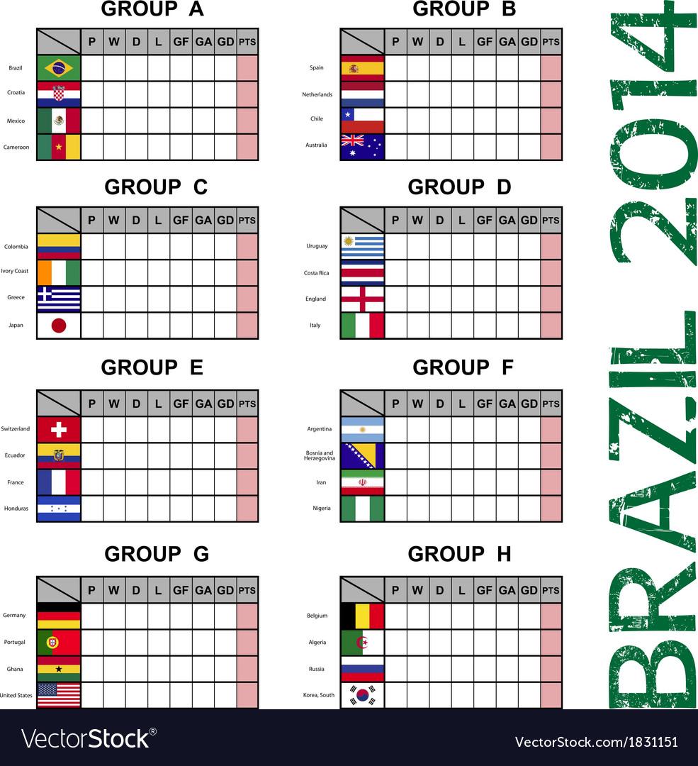 Brazil 2014 soccer football tournament vector   Price: 1 Credit (USD $1)
