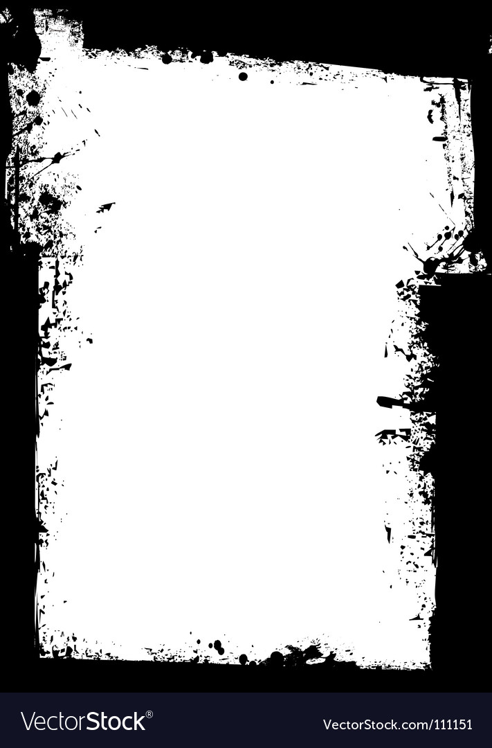 Grunge border splat vector | Price: 1 Credit (USD $1)