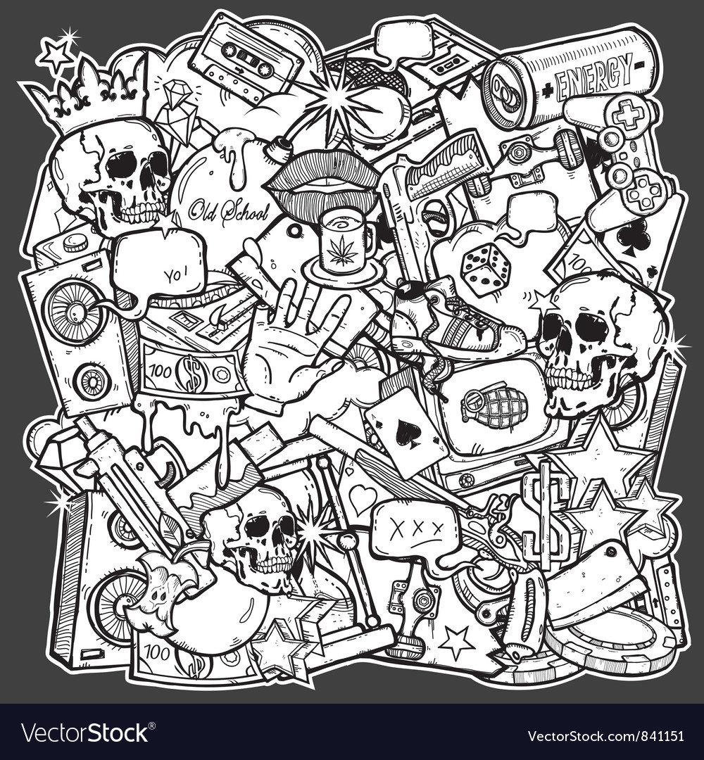 Mix background vector | Price: 1 Credit (USD $1)